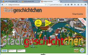 Screenshot: stadtgeschichtchen.de