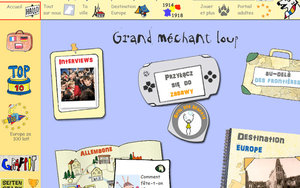 Screenshot http://www.mechant-loup.schule.de/