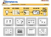 Screenshot aus LearningApps; Bild: Internet-ABC
