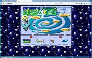 Screenshot: www.atom4kids.net