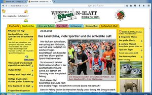 Screenshot: www.baeren-blatt.de