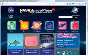 Screenshot: spaceplace.nasa.gov/
