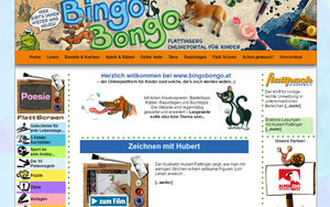 Screenshot www.bingo-bongo.at