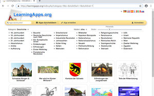 Screenshot: learningapps.org/...