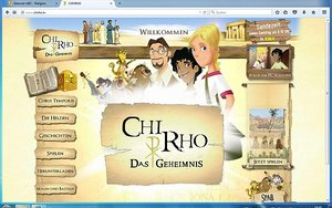 Screenshot: www.chirho.tv
