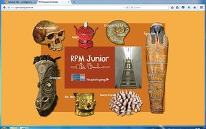 Screenshot: www.rpmuseum-junior.de