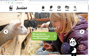 Screenshot: https://www.wwf-junior.de