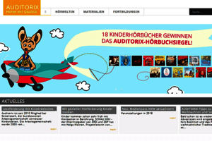 Screenshot der Webseite; Bild: Auditorix
