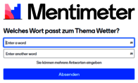 Screenshot aus Mentimeter; Bild: Internet-ABC