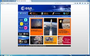 Screenshot: www.esa.int/esaKIDSde/index.html