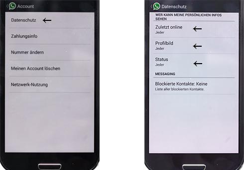 Schwarz profilbild whatsapp Tipp: WhatsApp
