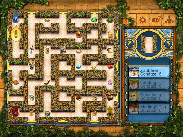 Das Verrückte Labyrinth Anleitung